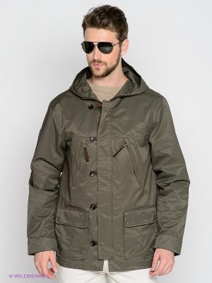 Куртка Alpha Industries. Цвет: оливковый