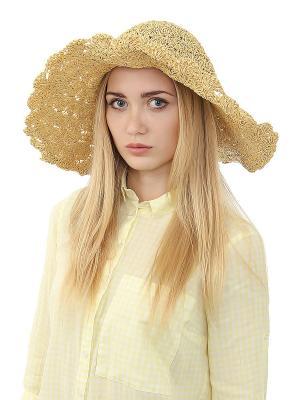 Шляпа Migura. Цвет: бежевый