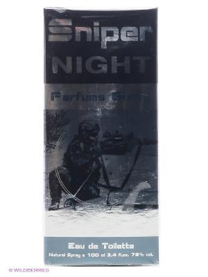 SNIPER NIGHT EDT 100 ML SPRAY PARFUMS GENTY. Цвет: прозрачный