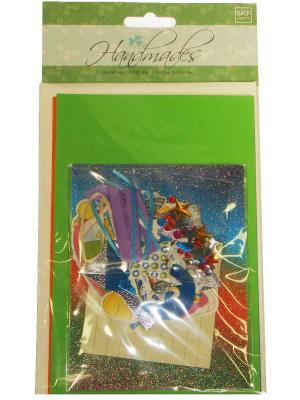 Набор Сделай 3 открытки Азбука Тойс. Цвет: зеленый
