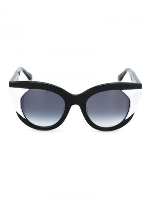 Солнцезащитные очки Nymphomany Thierry Lasry. Цвет: чёрный