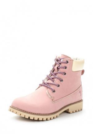 Ботинки Der Spur. Цвет: розовый
