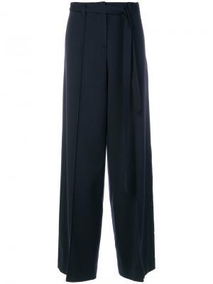 Широкие брюки Juun.J. Цвет: синий