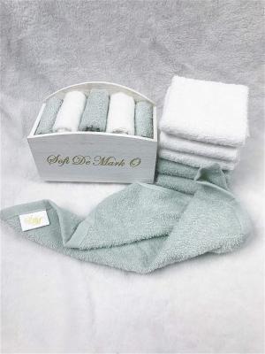 Набор салфеток в декоративной упаковке Sofi de Marko. Цвет: бирюзовый, белый