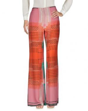 Повседневные брюки MALÌPARMI. Цвет: розовый