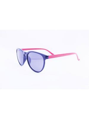 Солнцезащитные очки 1Azaliya. Цвет: черный, красный