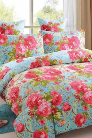 Постельное белье 2сп. 70х70 Amore Mio. Цвет: красный, голубой