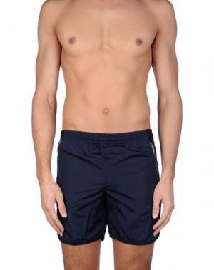 Пляжные брюки и шорты TIM COPPENS. Цвет: темно-синий