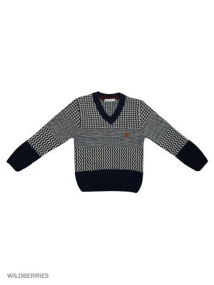 Пуловер Monna Rosa. Цвет: темно-серый, антрацитовый