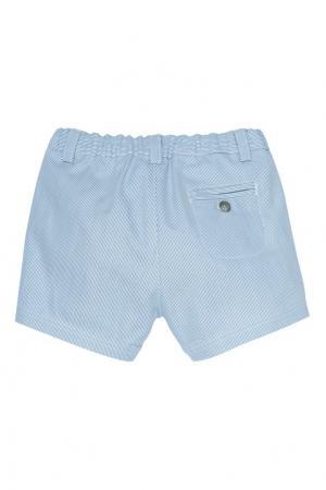 Голубые шорты ACADEMY Bonpoint. Цвет: голубой