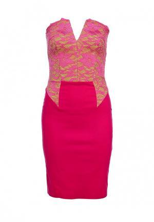 Платье Hybrid. Цвет: розовый