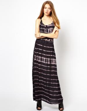 Платье макси с узором тай-дай Costa Blanca. Цвет: разноцв.