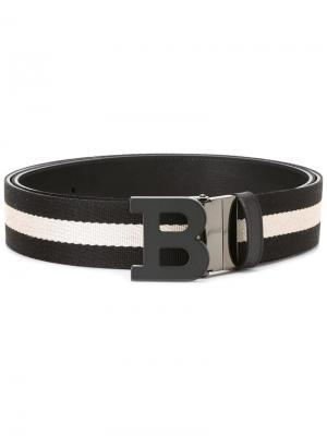 Reversible belt Bally. Цвет: чёрный