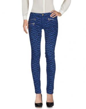 Повседневные брюки SHINE. Цвет: синий