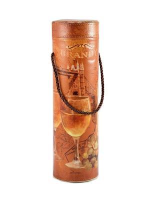 Шкатулка для бутылки Русские подарки. Цвет: рыжий