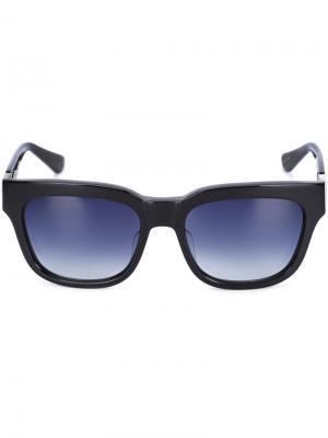 Солнцезащитные очки Blake Sama Eyewear. Цвет: чёрный