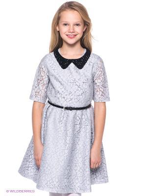 Платье S`Cool. Цвет: серый