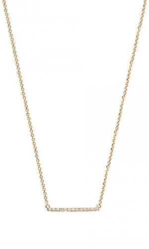 Ожерелье Sachi. Цвет: золотой