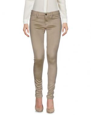 Повседневные брюки GENETIC DENIM. Цвет: песочный