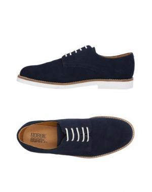 Обувь на шнурках BOBBIE BURNS. Цвет: темно-синий
