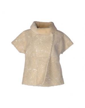 Куртка VINTAGE DE LUXE. Цвет: бежевый