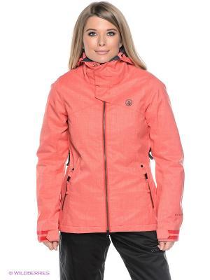Куртка Volcom. Цвет: розовый