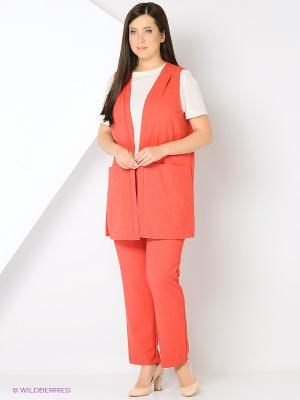 Жилет Milana Style. Цвет: красный