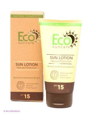 Солнцезащитное молочко Natural Sun Protection Lotion SPF 15, 125мл PULANNA. Цвет: желтый, коричневый