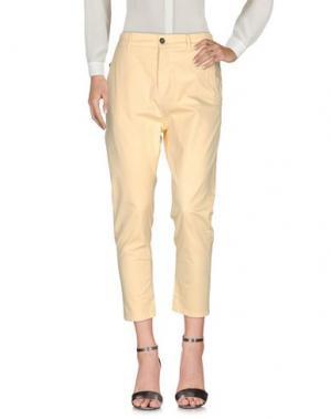 Повседневные брюки NOVEMB3R. Цвет: желтый
