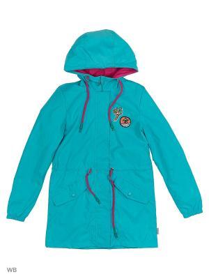 Куртки BOOM. Цвет: бирюзовый