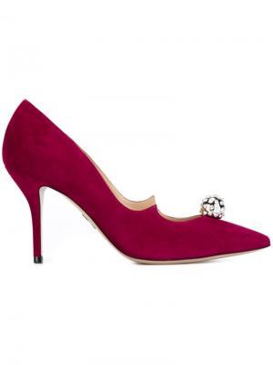 Декорированные туфли Paul Andrew. Цвет: розовый и фиолетовый