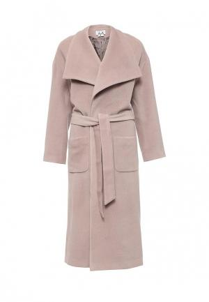 Пальто A-A by Ksenia Avakyan. Цвет: розовый