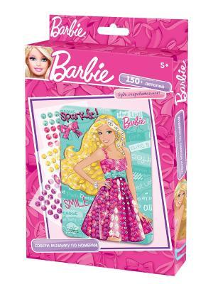 Чудо -Творчество. Barbie Мозаика  -сингл Чудо-творчество. Цвет: розовый, белый, черный