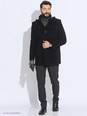Пальто Sainy. Цвет: темно-синий