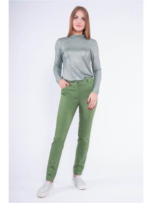 Кофточка Pavlotti. Цвет: светло-зеленый, серебристый