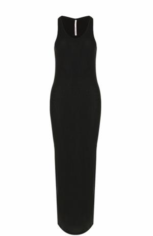 Облегающее платье-миди без рукавов Isabel Benenato. Цвет: черный