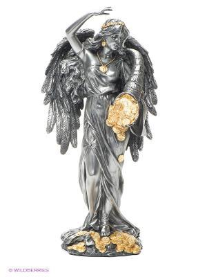 Статуэтка Фортуна - Богиня счастья и удачи Veronese. Цвет: серебристый