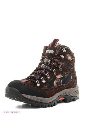 Обувь для охоты Роки Nova tour. Цвет: коричневый