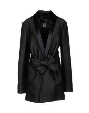 Легкое пальто JAY AHR. Цвет: черный