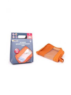 Органайзер для перевозки грязной одежды PATERRA. Цвет: оранжевый