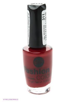 Устойчивый гипоаллергенный лак для ногтей Fashion Colour, тон 323 Bell. Цвет: красный