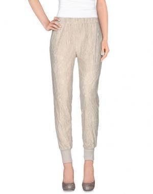 Повседневные брюки FALCON & BLOOM. Цвет: светло-серый