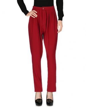 Повседневные брюки MNML COUTURE. Цвет: пурпурный