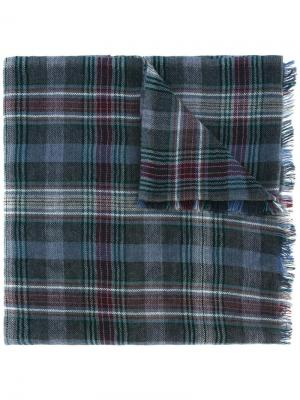 Checked scarf Loro Piana. Цвет: красный
