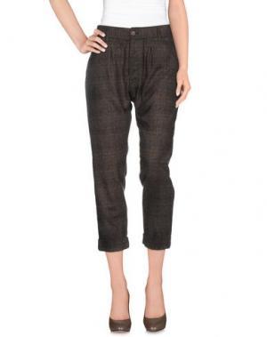 Повседневные брюки CYCLE. Цвет: темно-коричневый