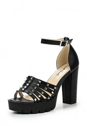 Босоножки Sweet Shoes. Цвет: черный