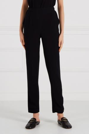 Черные брюки с карманами Cyrille Gassiline. Цвет: черный