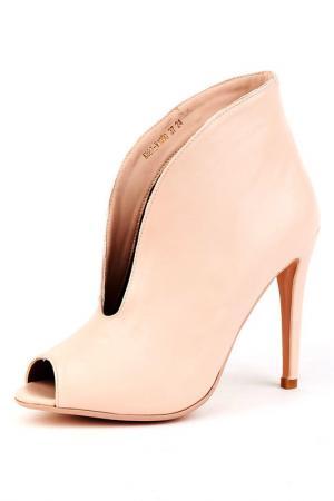 Ботинки Riccorona. Цвет: бежевый