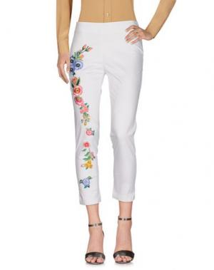 Повседневные брюки LAFTY LIE. Цвет: белый