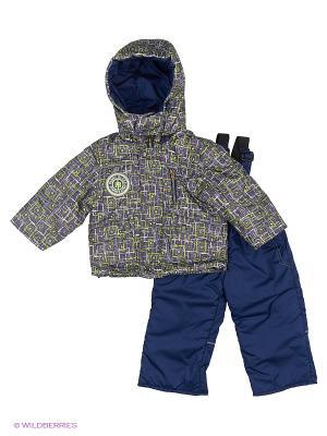 Комплект для мальчика демисезонный /куртка, полукомбинезон/ Rusland. Цвет: салатовый